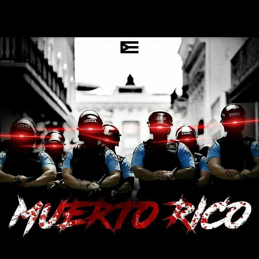 Arte creado por este servidor. #MuertoRico #ParoNacional #1DeMayo #Mayo1 #May1 #PuertoRico #puertorico2017 #Auditoría #UPR #Fortaleza #ElMorro #Underground