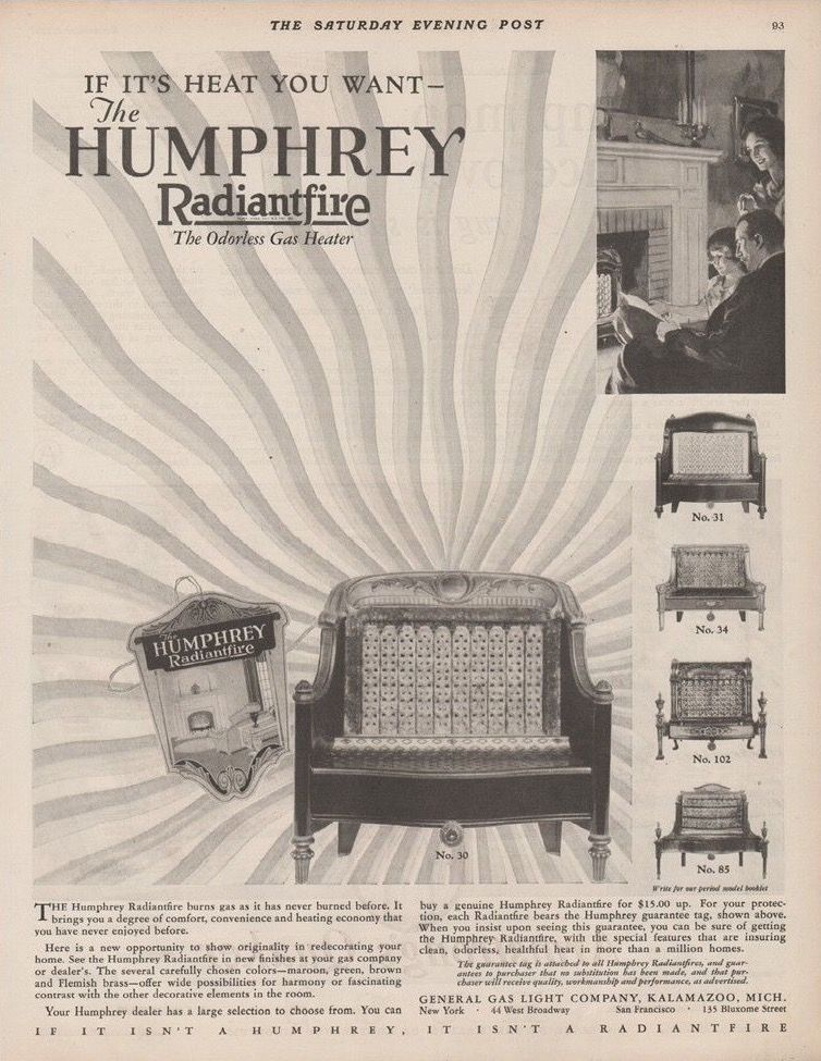Pin By J E Hart On Vintage Ads Heating And Cooling Gas Lights