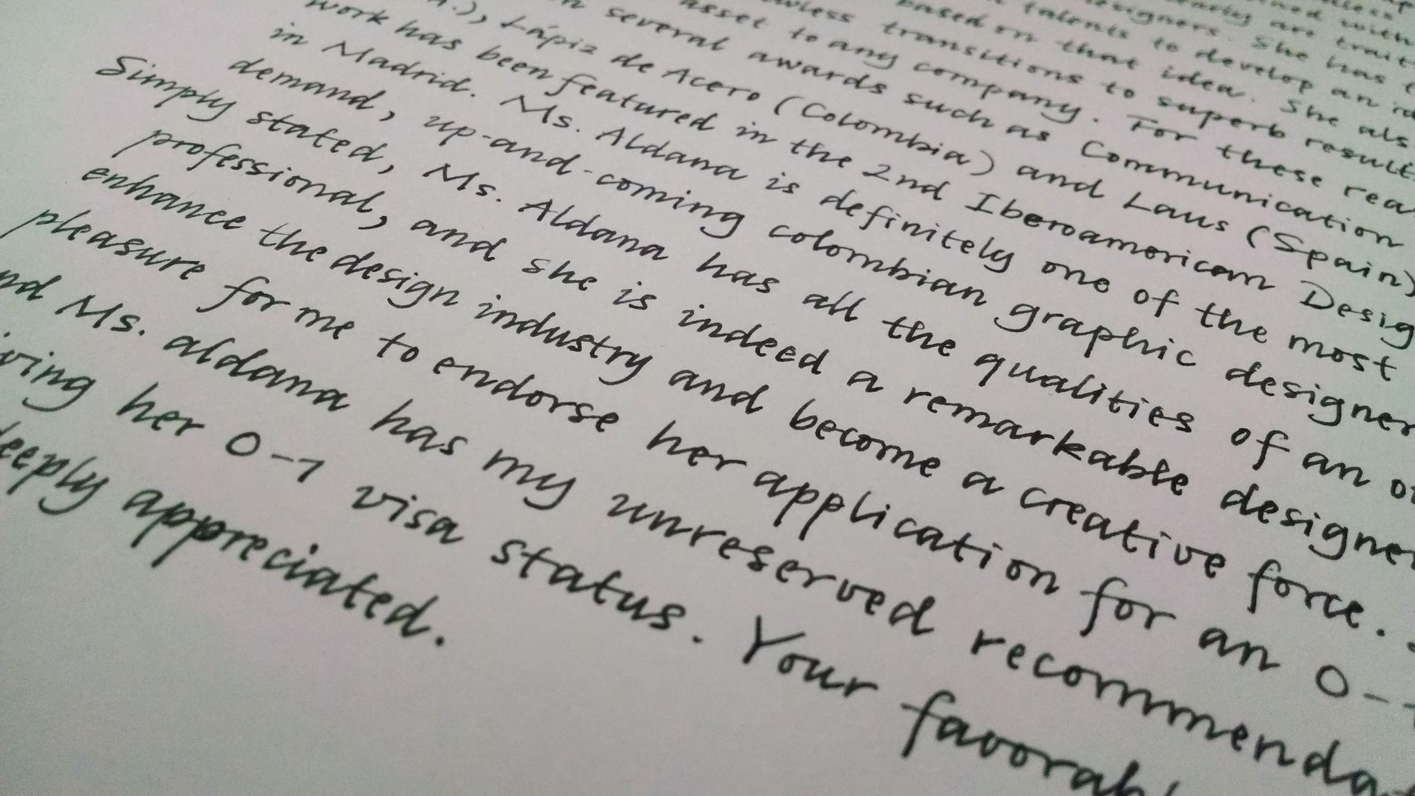 Cursive Italic Calligraphy