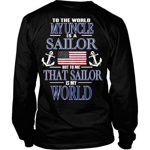 To the world my uncle is a sailor - Back