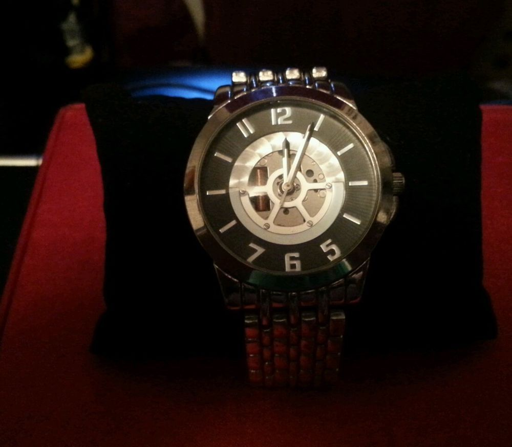 Men's Silver Watch #Unbranded #Dress