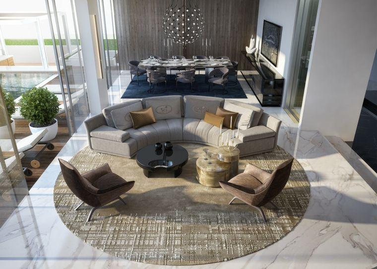1001 + idee per arredare salotto e sala da pranzo insieme