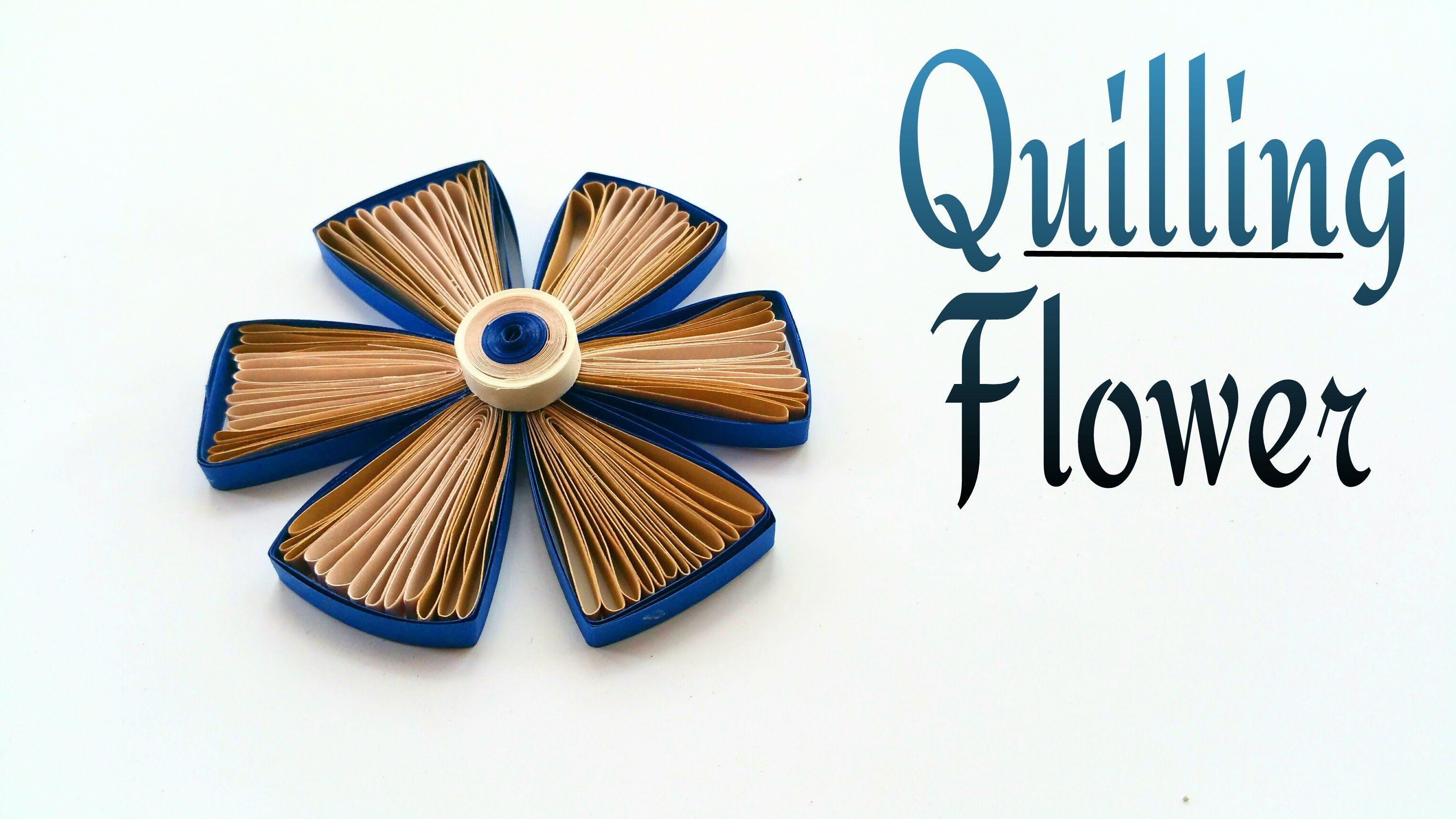 How to make a beautiful paper quilling flower design 2 craft how to make a beautiful paper quilling flower design 2 craft tutorial izmirmasajfo