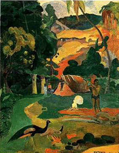 der maler paul gauguin sein leben und seine werke artful gardens pinterest. Black Bedroom Furniture Sets. Home Design Ideas