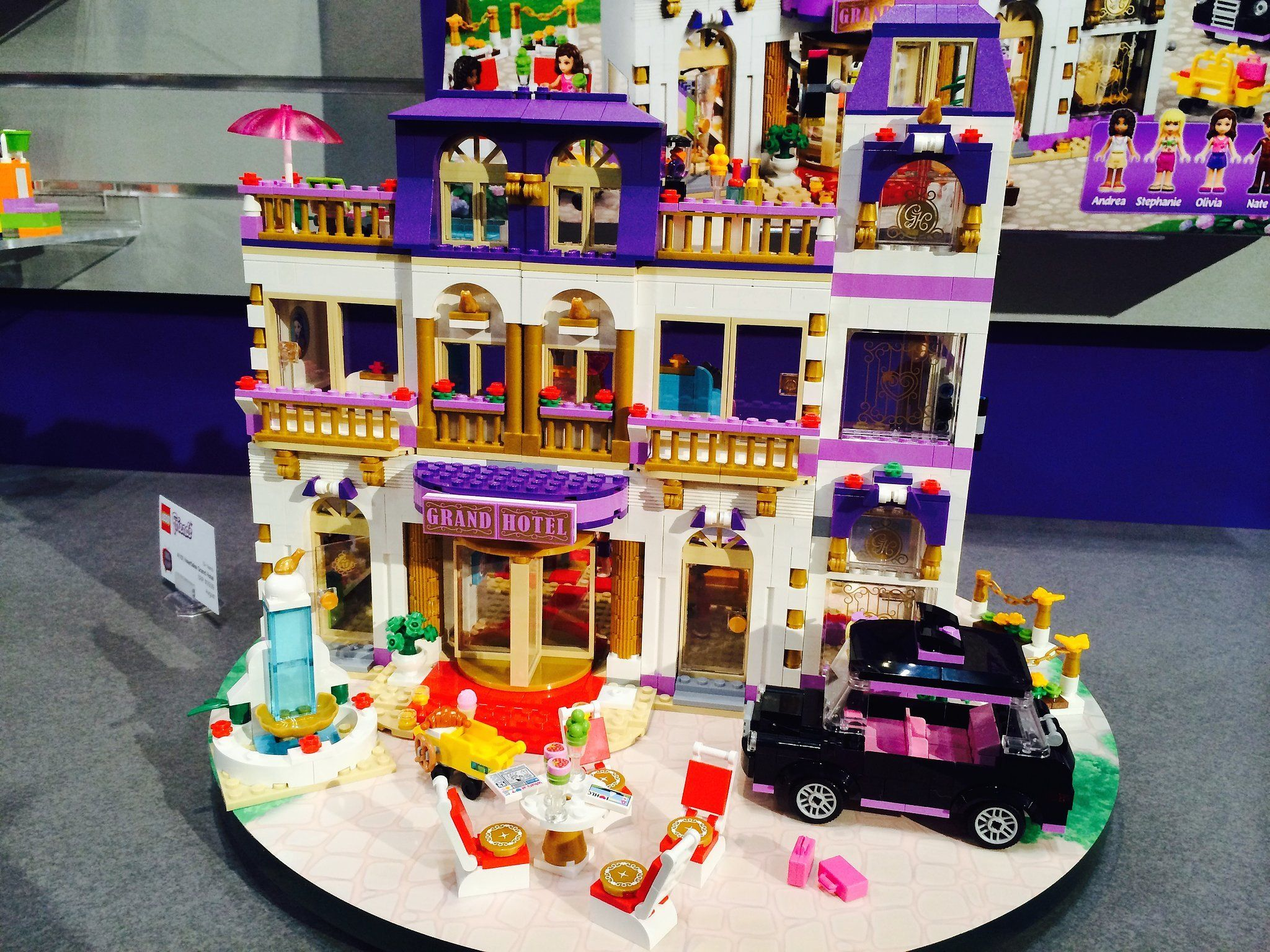 Lego Friends Heartlake Grand Hotel Lego Friends Lego Friends