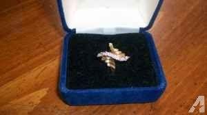 DIAMOND WATERFALL RING - $100 (MURFREESBORO)