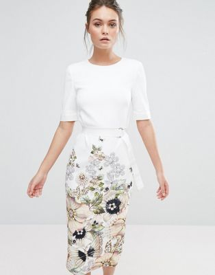 5aced227b3be Discover Fashion Online Pencil Dress, Ted Baker, Floral, Skirts, Dresses,  Style