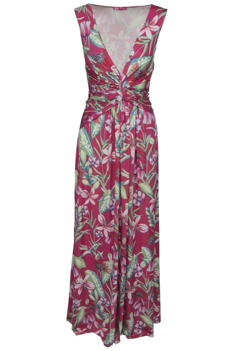 78665562f07 Goddess lang pink maxi kjole | Fashion | Kjoler, Kjole og Pink