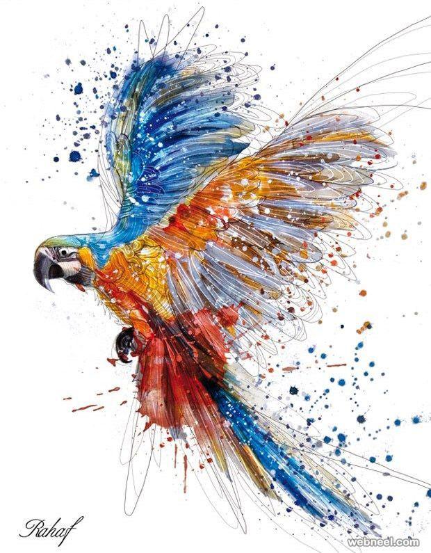 50 Beautiful Bird Paintings From Famous Artists Part 2 Bird