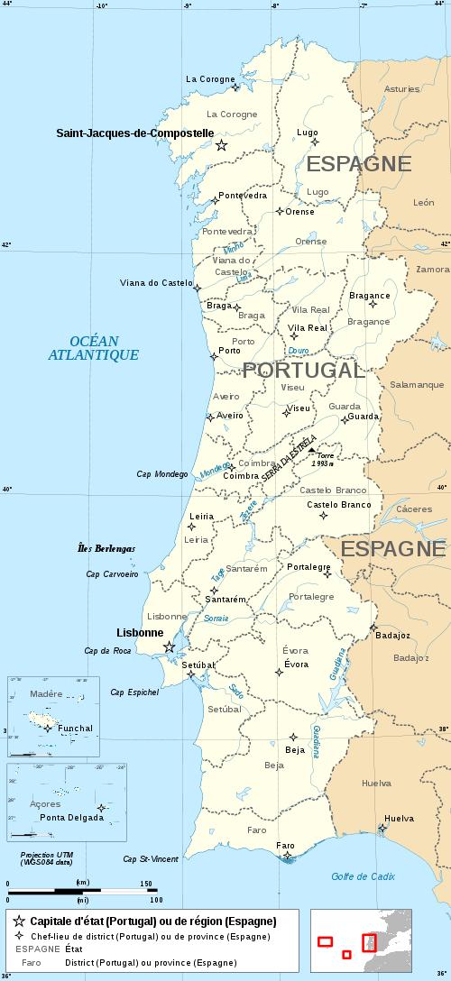 mapa galiza portugal Mapa hipotético, unindo Portugal e Galiza. | Portugaliza  mapa galiza portugal