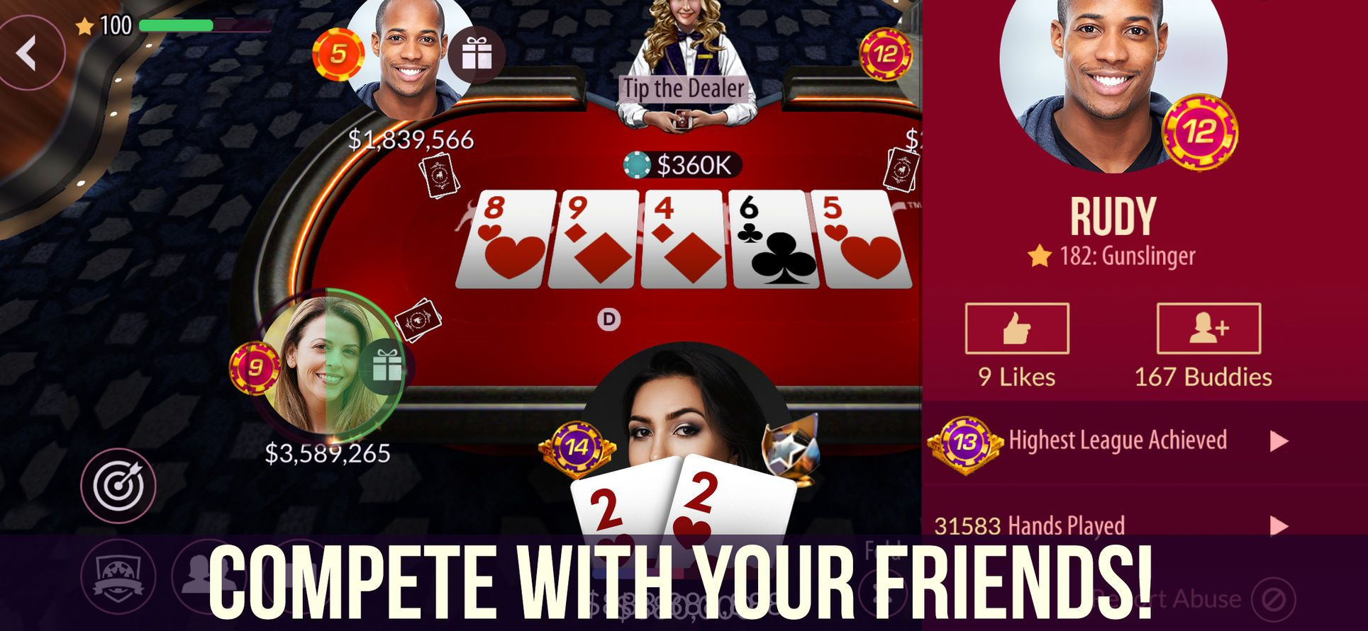 ‎Zynga Poker Texas Holdem on the App Store (With images