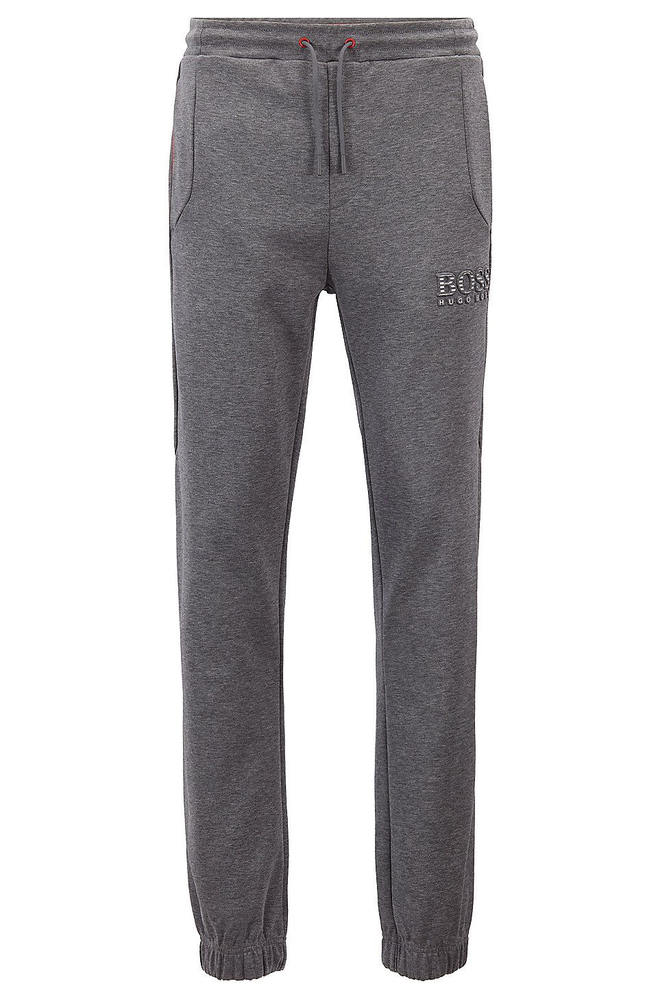 large assortment real deal official site Slim-fit tracksuit bottoms with reflective detailing - Grey ...
