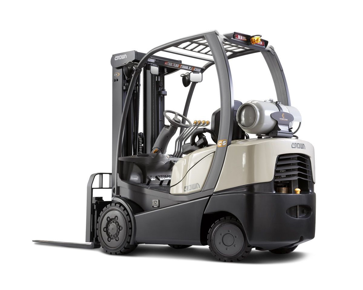 Crown Lift Trucks Lifted Trucks Crown Equipment Forklift