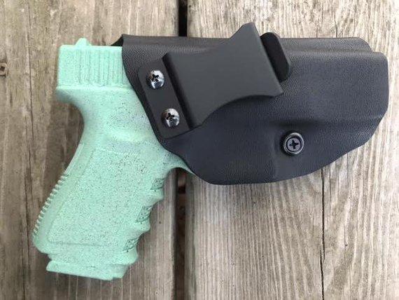 Glock 19/23/32 custom holster, kydex holster, gun holster