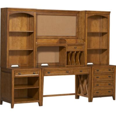 Home Offices, Yorkston Writing Desk Wall, Home Offices | Havertys Furniture  #Havertys Refresh