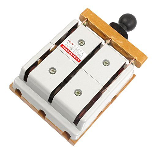 Uxcell A12071600ux0079 3 Pole Double Throw Electric Brake Safety Closing Switch 380v 100 Amp Review Safety Switch Electricity Electrical Equipment