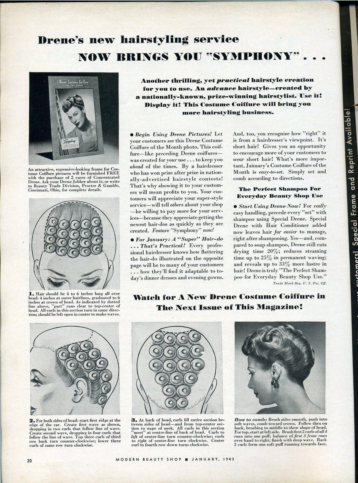 Hair Roller Set VintageTutorial
