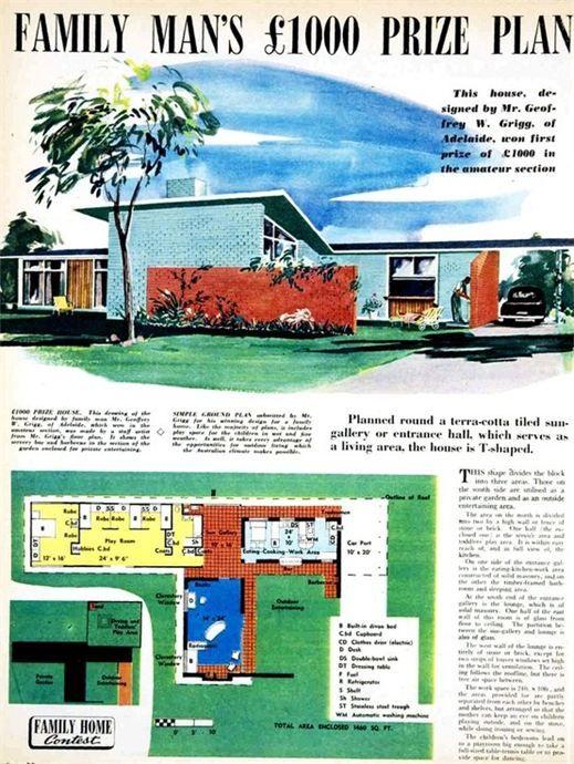 Secret design studio blog mid century modern australian for Modern house plans under 200k to build