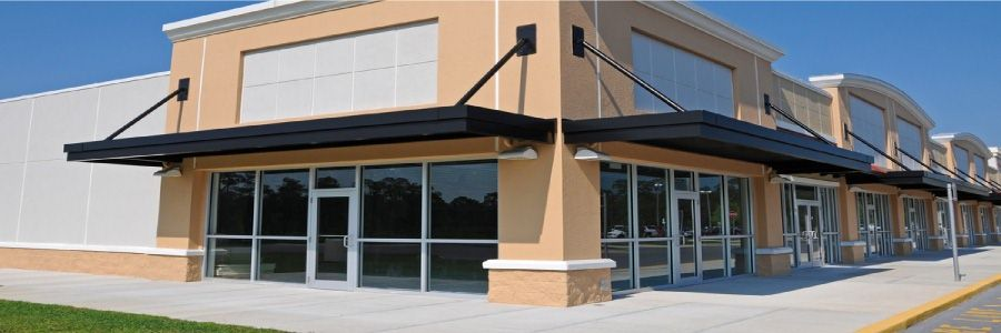 Storefront Repair Services Window Glass Repair Retractable Awning Hurricane Protection