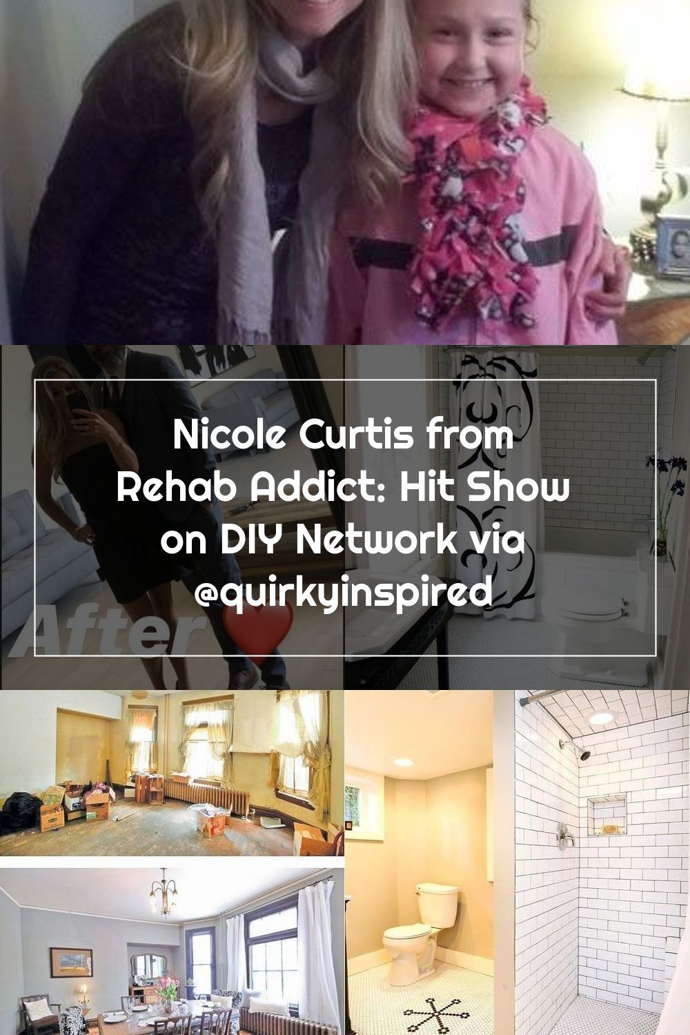 Nicole Curtis from Rehab Addict Hit Show on DIY Network