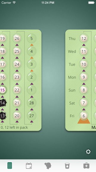 myPill® Birth Control Reminder & Menstrual Cycle Calendar