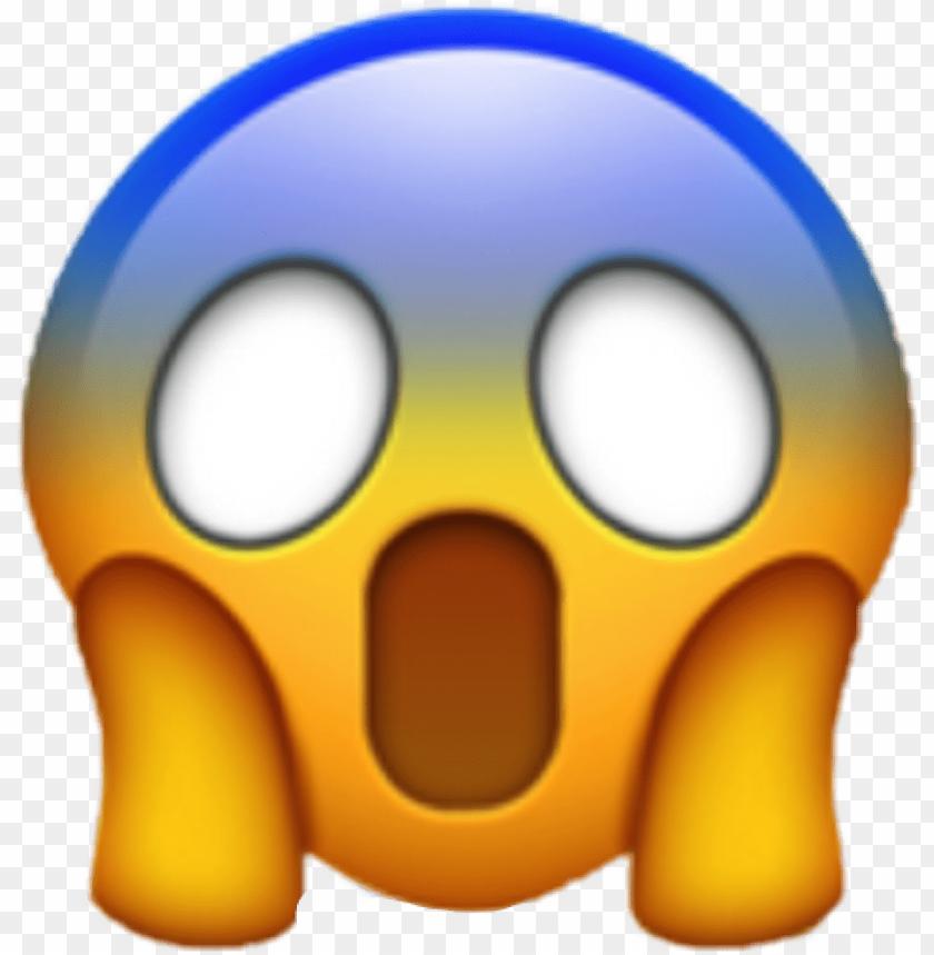 Scream Emoji Png Emotio Png Image With Transparent Background Png Free Png Images In 2020 Scared Emoji Emoji Iphone Wallpaper Vintage