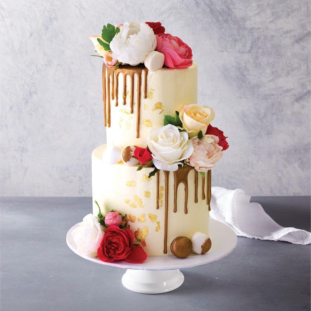Bronze Drip Celebration Cake in 2020 Celebration cakes