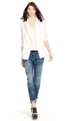 Women S Jackets Polo Ralph Lauren Shopping Outfit Cotton Blazer Jackets For Women