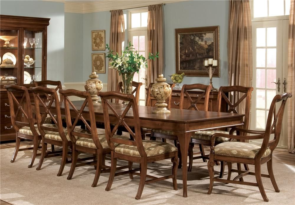 Delshire Eleven Piece Dining Set by Drexel Heritage® | kitchen ...