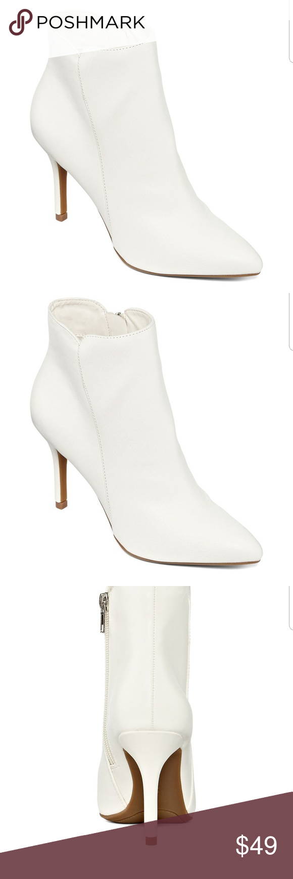 effd589d078812 Womens Savida Booties Zip These Beautiful White Creamy Boots have all of  the following Boot Shaft