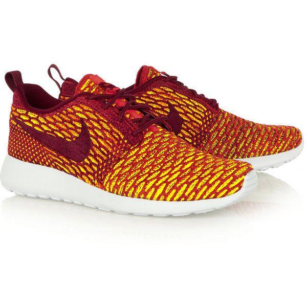 Nike Roshe One Flyknit sneakers, Women's, Size: 7 ($64) ❤ liked
