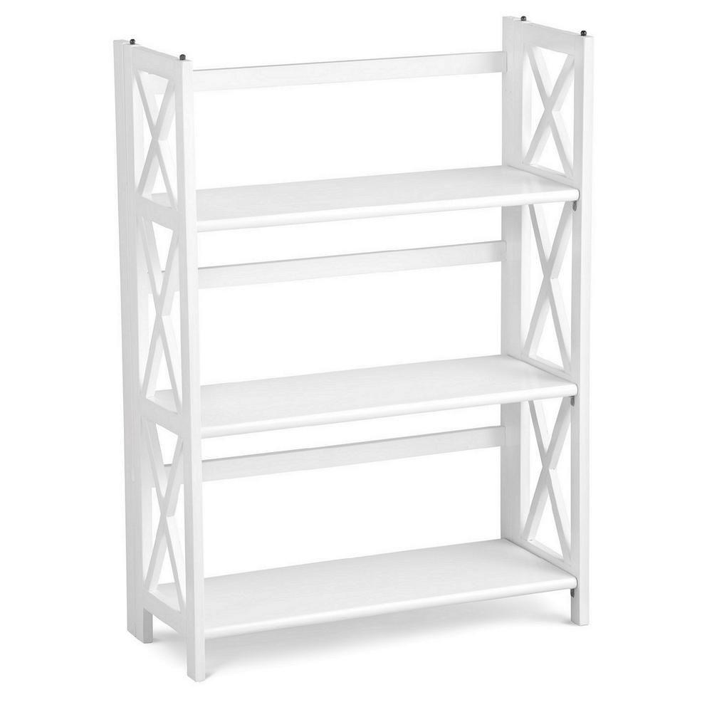 3 Tier Folding Bookcase Home Decorators Collection Bookcase Decor