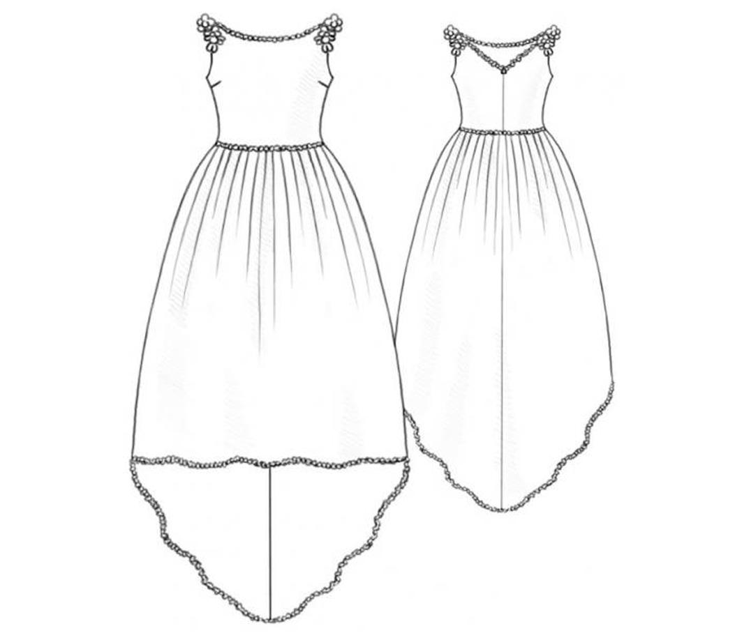 Wedding dress patterns free  Bootstrapfashion  Designer Sewing Patterns Free Trend Reports