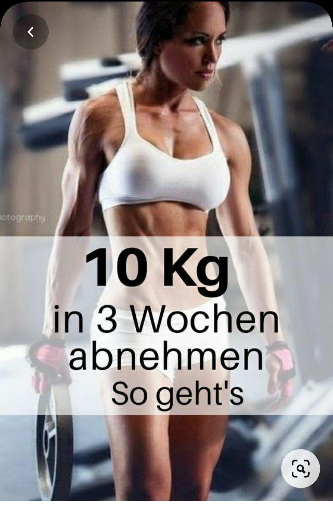 10 kg in drei Monaten verlieren