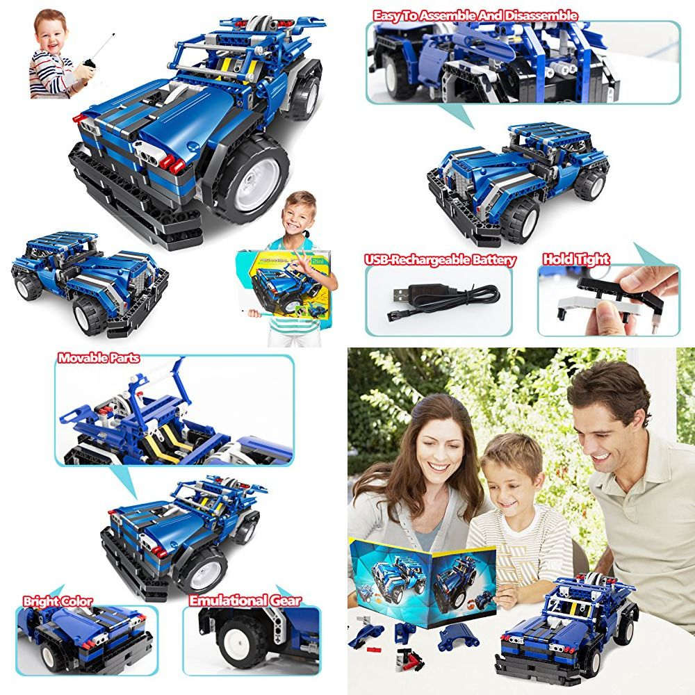 Stem Engineering Toys For Boys Girls Building Blocks Kit