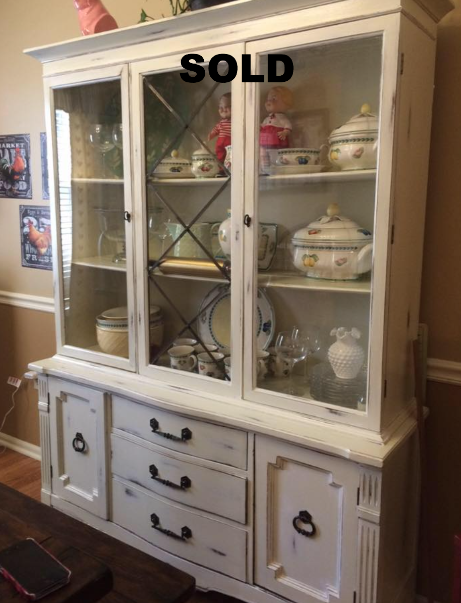French country china cabinets - Farmstead French Country China Cabinet