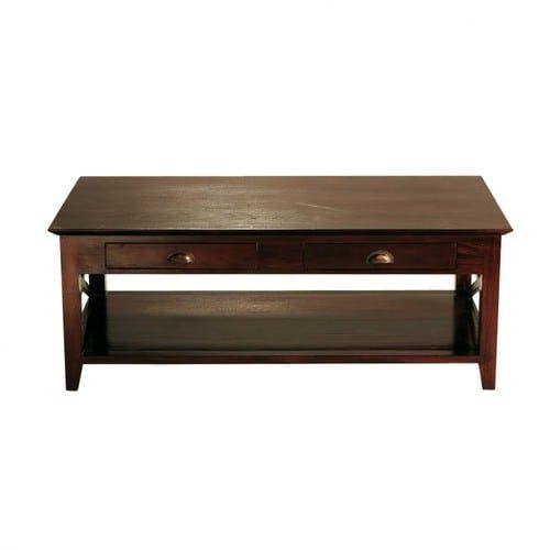 Table Basse En Mahogany Massif L 120 Cm Maisons Du Monde Table Basse Maison Du Monde Table Basse Table Basse Bois Blanc