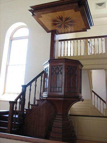 Colonial Chapel in Montevallo, AL Model of Bruton Parish Chuch in Colonial Williamsburg, Va