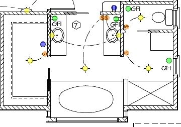 Electrical Wiring Diagram Bathroom With Images Apartment Layout Apartment Decorating
