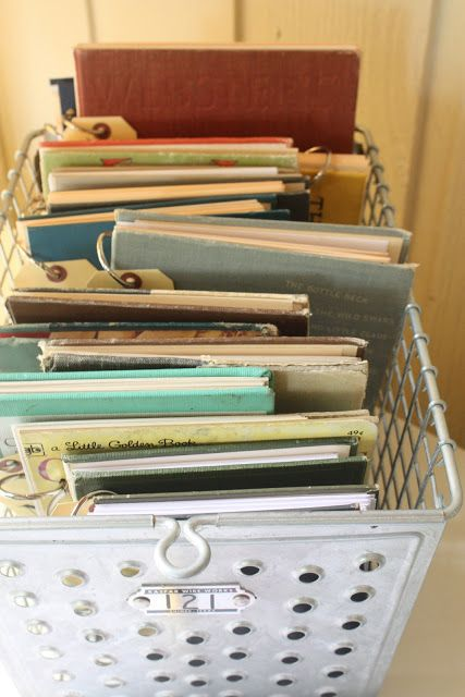 My Sweet Savannah: ~thrifty thursday~{what to do with old books}