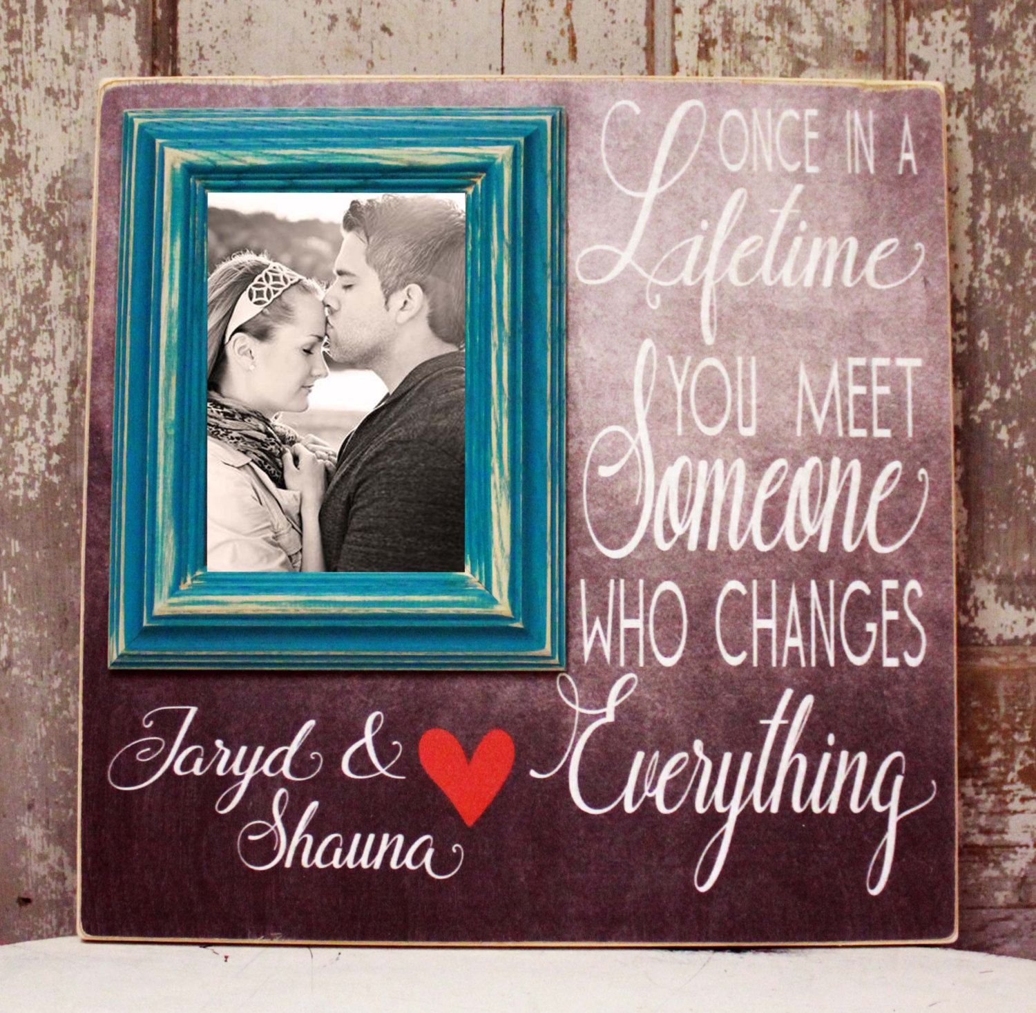 Once In A Lifetime Boyfriend Gift Anniversary Gifts For