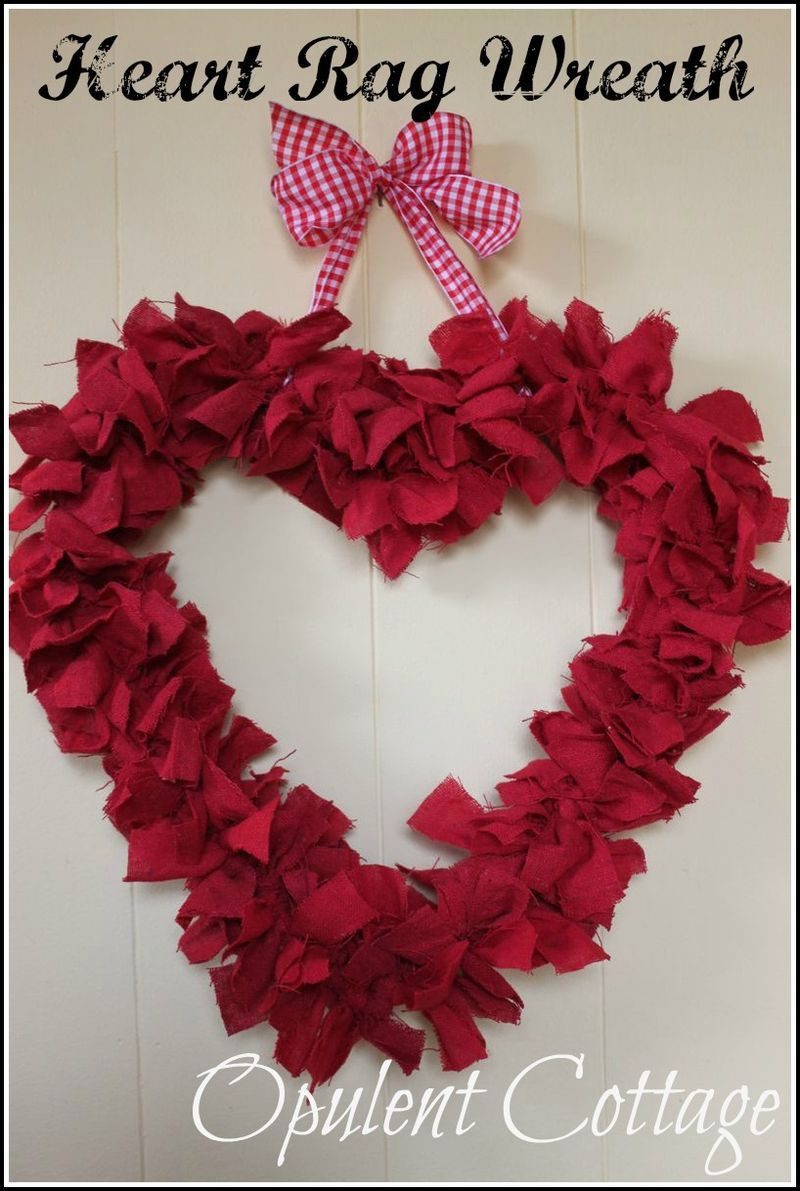 Heart Wreath - from Opulent Cottage