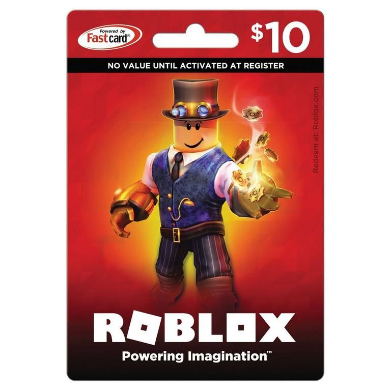 Gamestop Gift Card For Robux Roblox 10 Universal Gamestop In 2020 Roblox Gifts Roblox Card Games