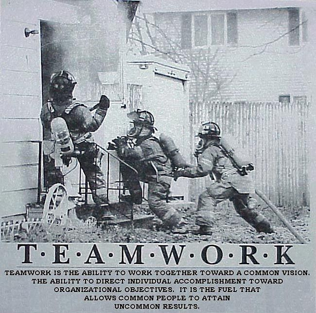Famous Poems About Teamwork | teamwork_team_work_fire_A.jpg ...