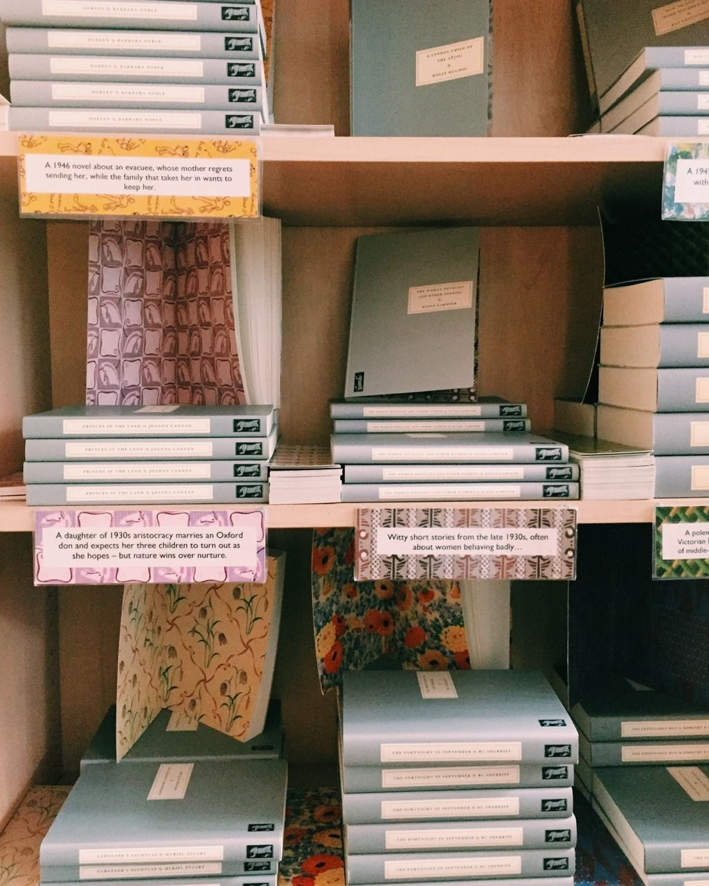 Persephone Books, a beautiful bookstore in London that I ...