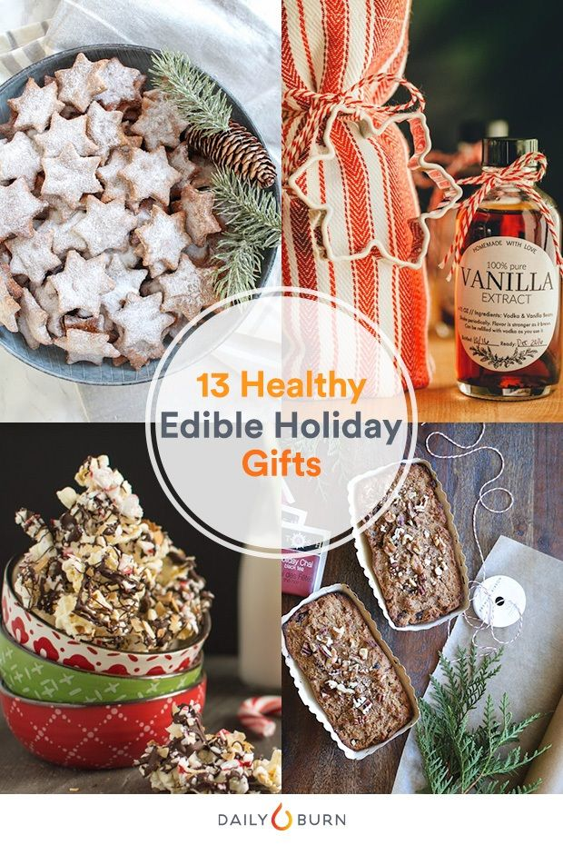 Healthy recipes for christmas gifts