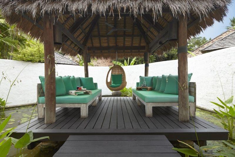 Relaxation Sala at Six Senses Spa at Evason Hua Hin, Thailand. http://www.sixsenses.com/evason-resorts/hua-hin/spa