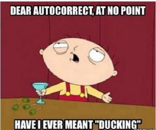 Soooo ducking true. Lol.