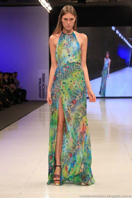 Vestidos de fiesta largos primavera 2015