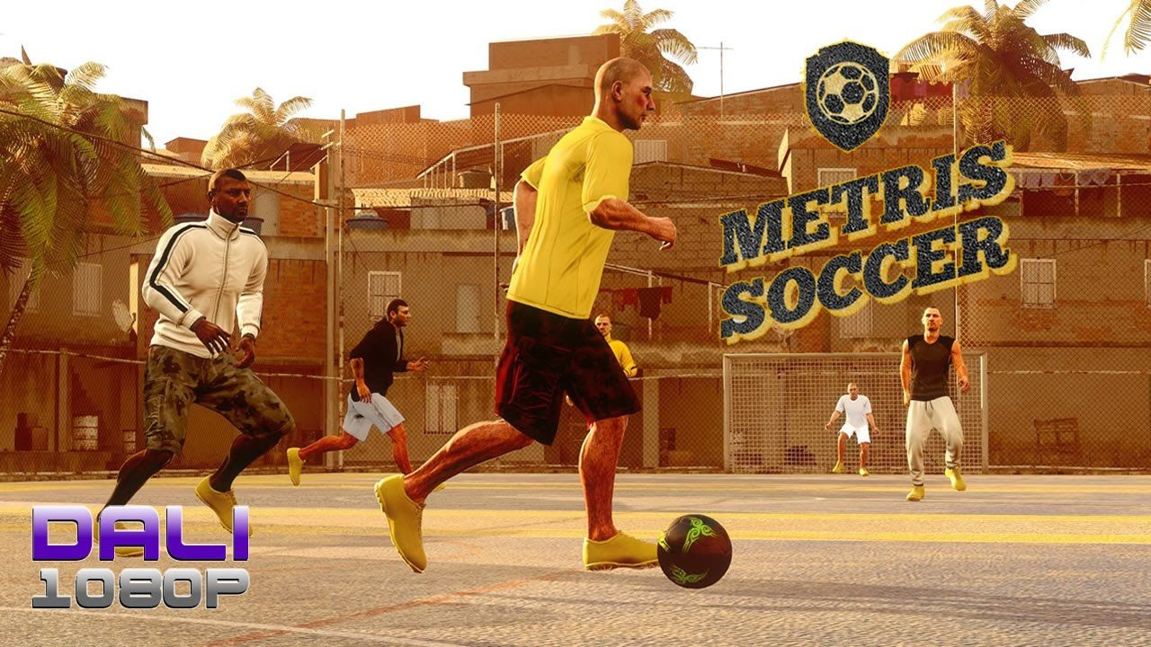 Metris Soccer Is An Arcade Street Football Soccer Game Inspired By Classic Games From The Early Fifa Street Series Classic Games Street Football Soccer Games